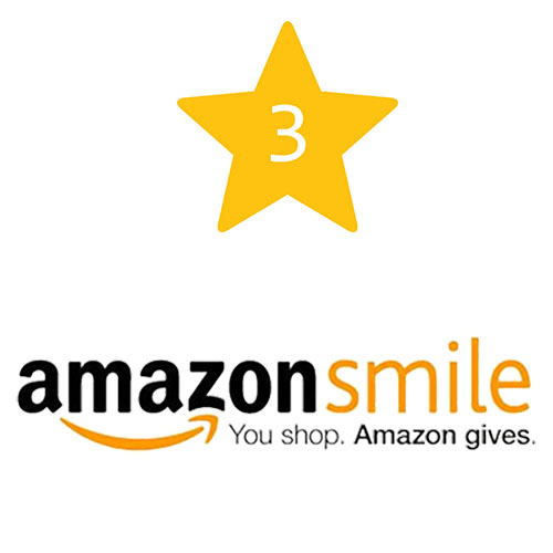 Shop and give with AmazonSmile
